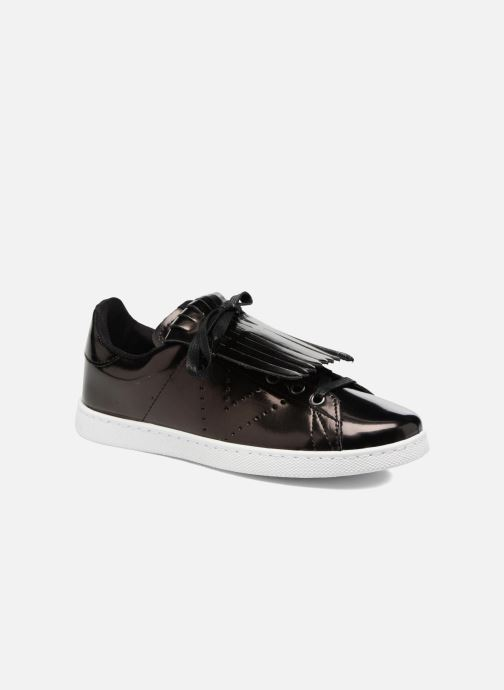 Sneakers Victoria Deportivo Flecos Espejo Zwart detail
