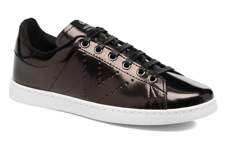 Sneakers Victoria Deportivo Flecos Espejo Zwart 3/4'