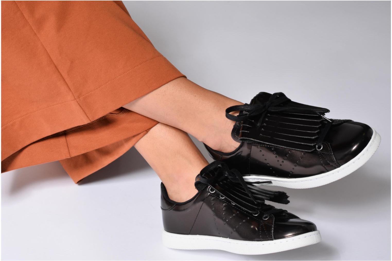 Sneakers Victoria Deportivo Flecos Espejo Zwart onder