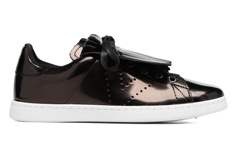 Sneakers Victoria Deportivo Flecos Espejo Zwart achterkant