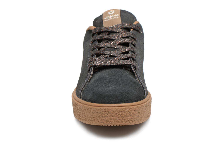 Sneaker Victoria Deportivo Serraje grau schuhe getragen