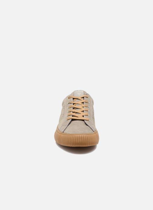 Baskets Victoria Deportivo Serraje gum Gris vue portées chaussures