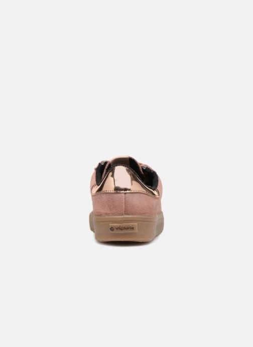 Sneakers Victoria Deportivo Serraje gum Roze rechts