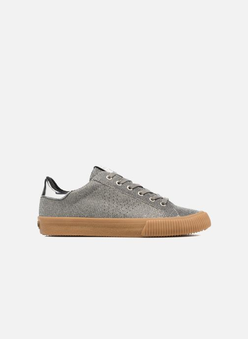 Trainers Victoria Deportivo Lurex Silver back view