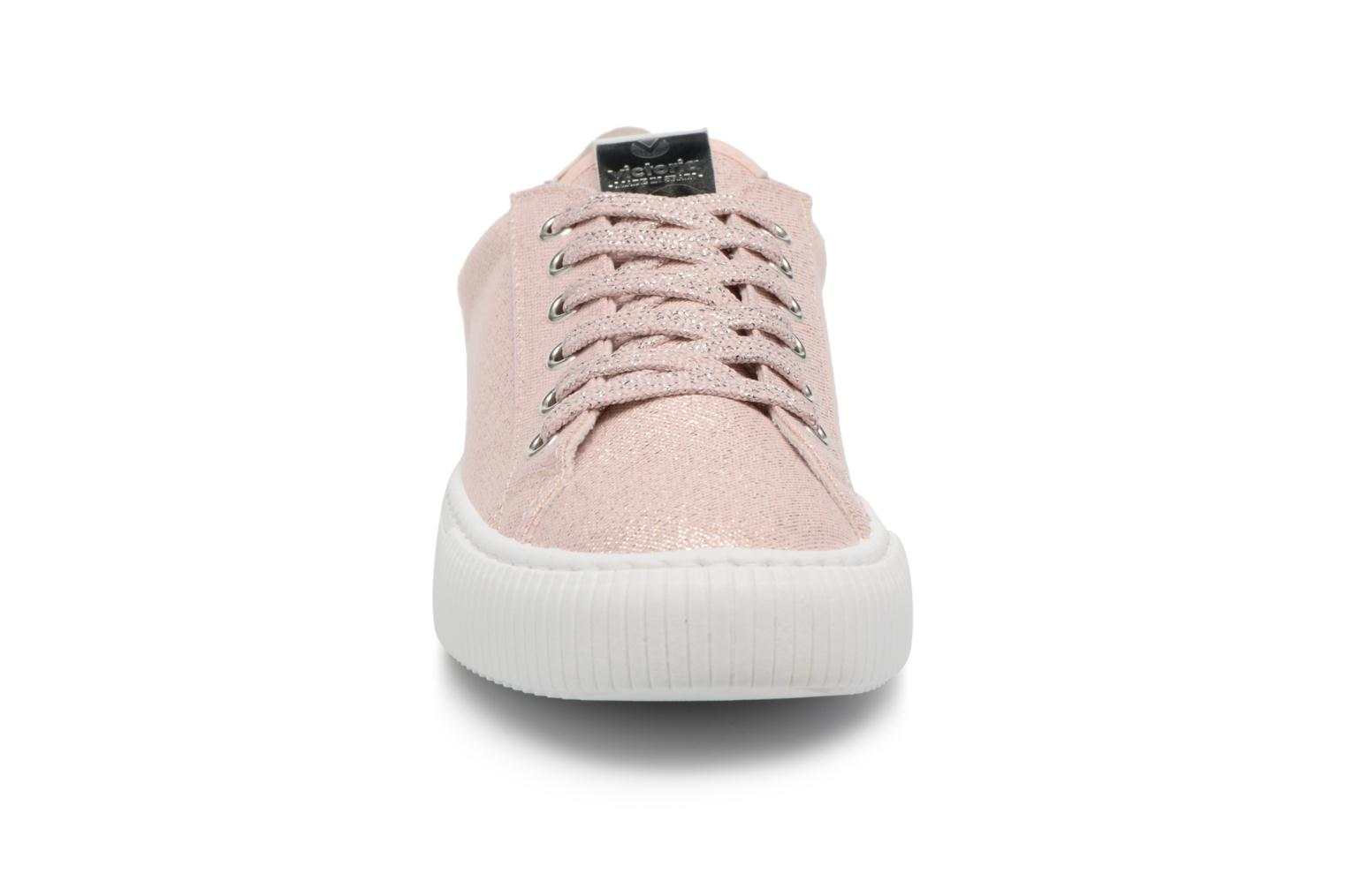 Trainers Victoria Deportivo Lurex Pink model view