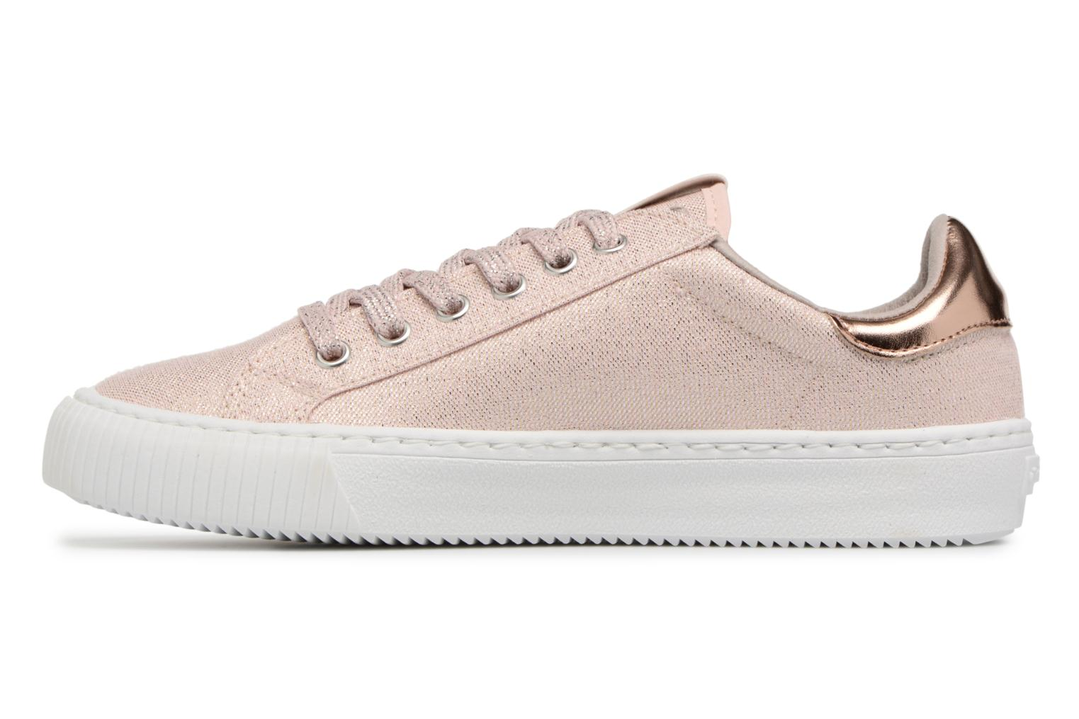 Trainers Victoria Deportivo Lurex Pink front view