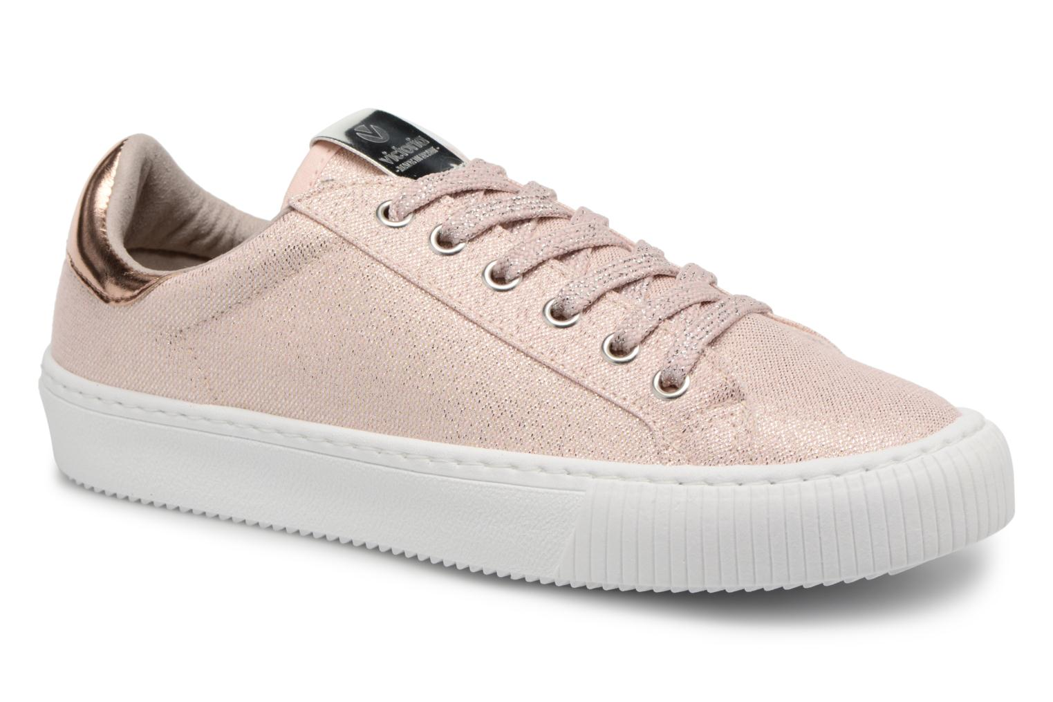 Trainers Victoria Deportivo Lurex Pink detailed view/ Pair view