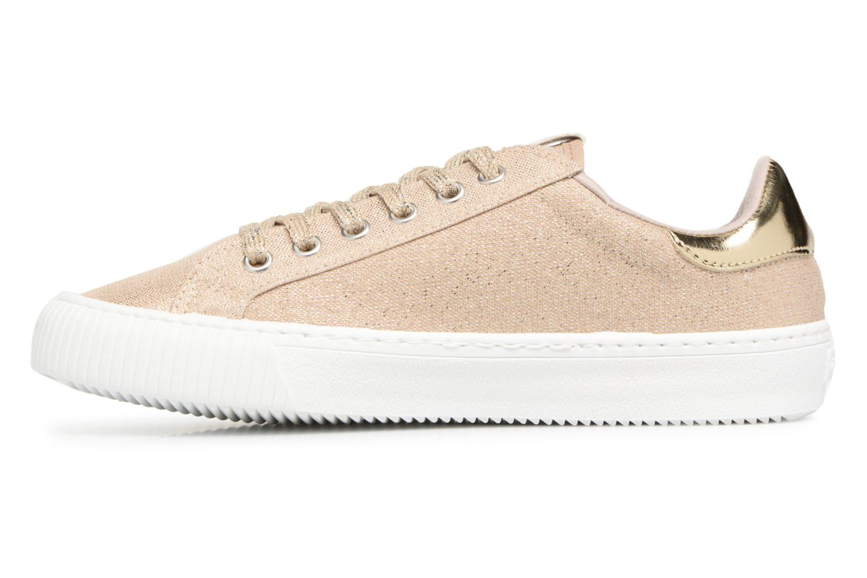 Sneakers Victoria Deportivo Lurex Goud en brons voorkant