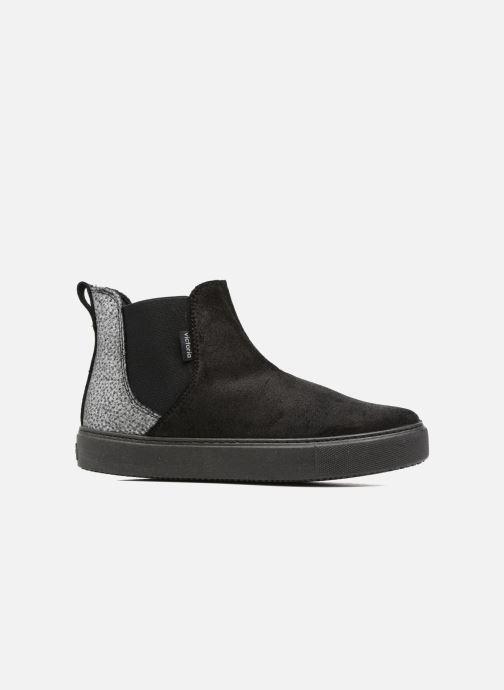 Bottines et boots Victoria Chelsea Serraje Encerado/Piel Noir vue derrière