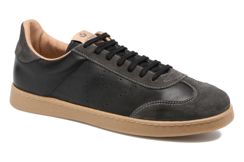 Sneakers Victoria Deportivo Ciclista Piel Zwart detail