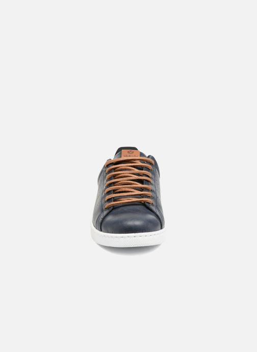 Sneaker Victoria Deportivo Piel PU Contraste blau schuhe getragen