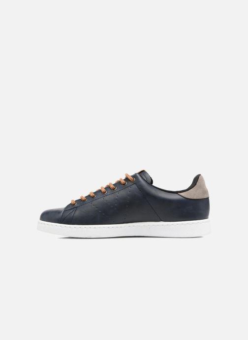 Sneakers Victoria Deportivo Piel PU Contraste Azzurro immagine frontale