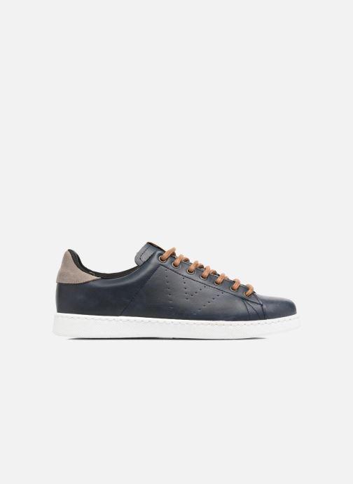 Sneakers Victoria Deportivo Piel PU Contraste Azzurro immagine posteriore