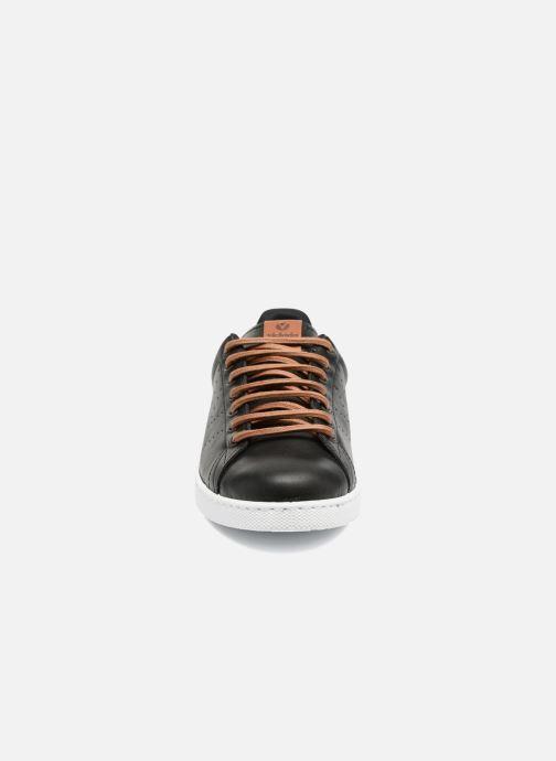 Sneakers Victoria Deportivo Piel PU Contraste Nero modello indossato