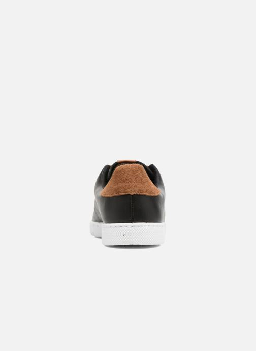Sneakers Victoria Deportivo Piel PU Contraste Nero immagine destra