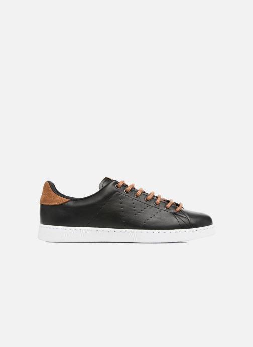 Sneakers Victoria Deportivo Piel PU Contraste Nero immagine posteriore