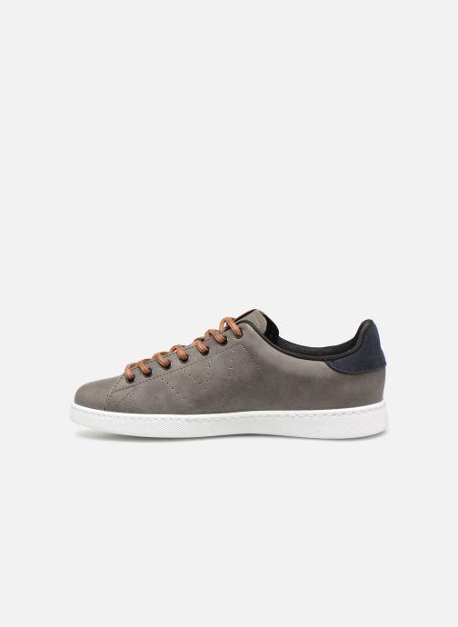 Sneaker Victoria Deportivo Piel PU Contraste grau ansicht von vorne