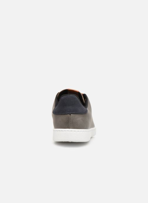 Trainers Victoria Deportivo Piel PU Contraste Grey view from the right