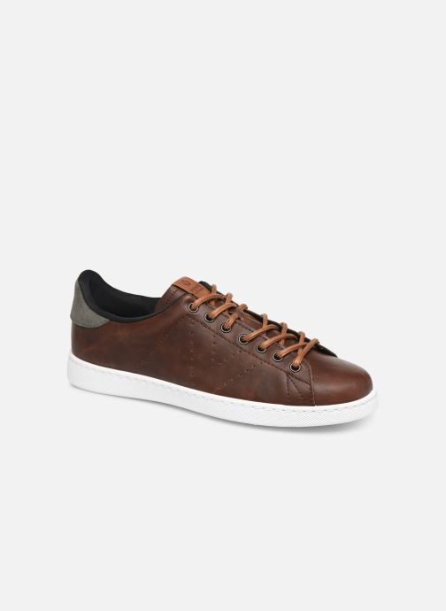 Trainers Victoria Deportivo Piel PU Contraste Brown detailed view/ Pair view
