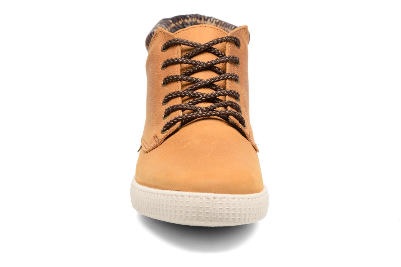 Bottines et boots Victoria Bota Piel Bombeada Cuello M Marron vue portées chaussures