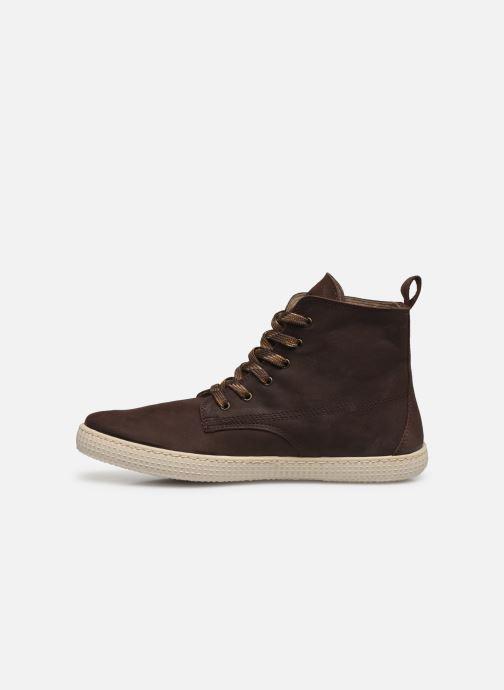 Sneakers Victoria Bota Working Piel Bruin voorkant