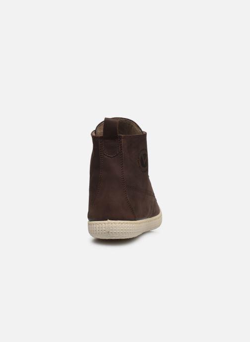 Sneakers Victoria Bota Working Piel Marrone immagine destra