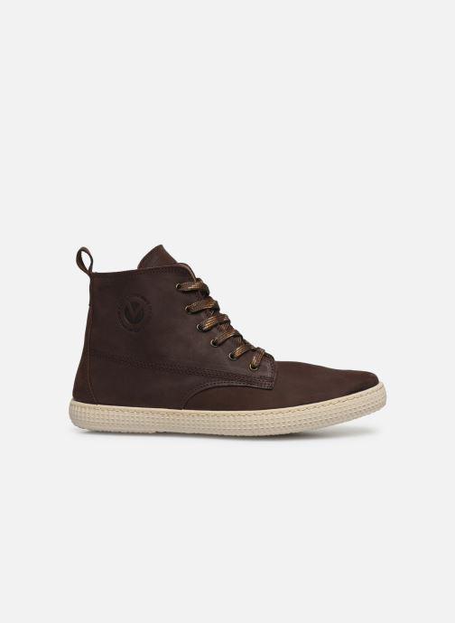 Sneakers Victoria Bota Working Piel Bruin achterkant