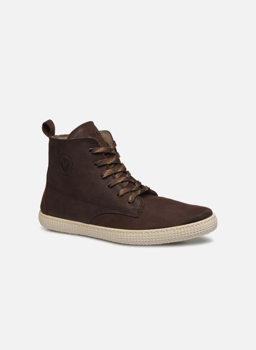 Sneakers Victoria Bota Working Piel Marrone vedi dettaglio/paio