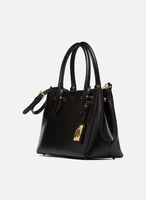 Lauren Ralph Lauren Newbury Double Zipper Shopper (Svart