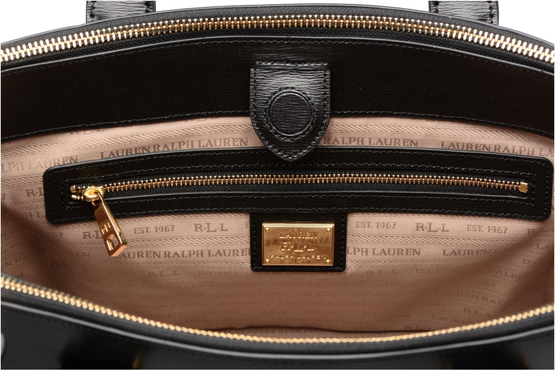 Sacs à main Lauren by Ralph Lauren Newbury Double Zipper Shopper Noir vue derrière