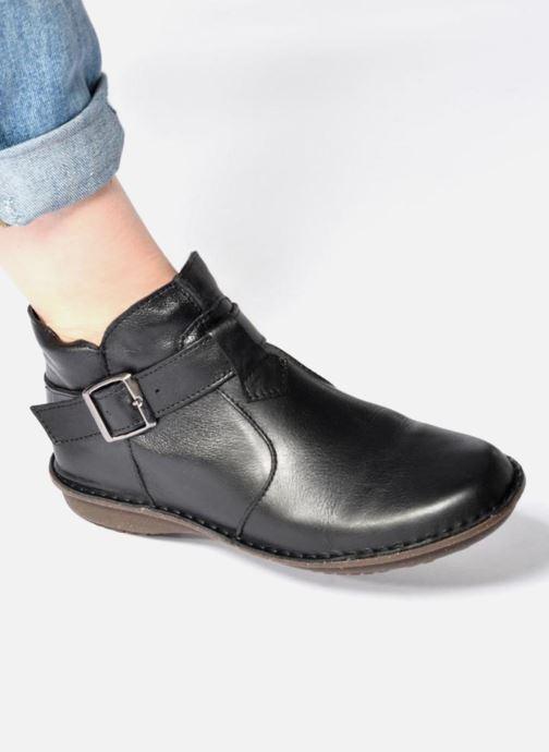 Bottines et boots Arima pour Elle Vorly Noir vue bas / vue portée sac
