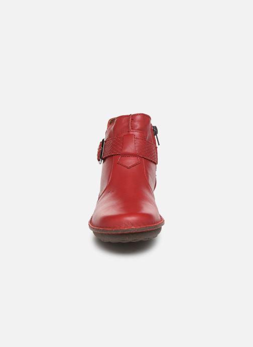 Bottines et boots Arima pour Elle Vorly Rouge vue portées chaussures