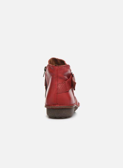 Bottines et boots Arima pour Elle Vorly Rouge vue droite