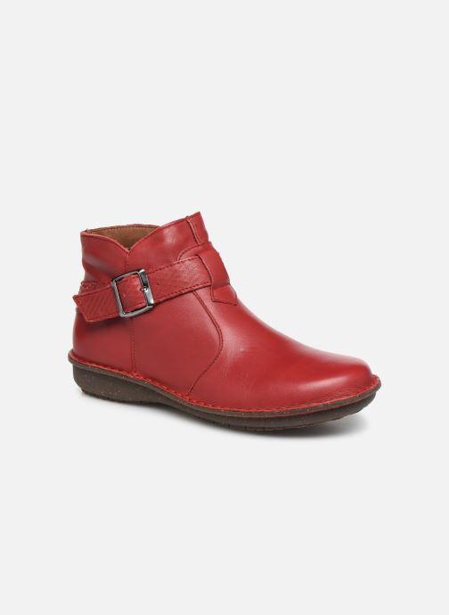 Bottines et boots Arima pour Elle Vorly Rouge vue détail/paire