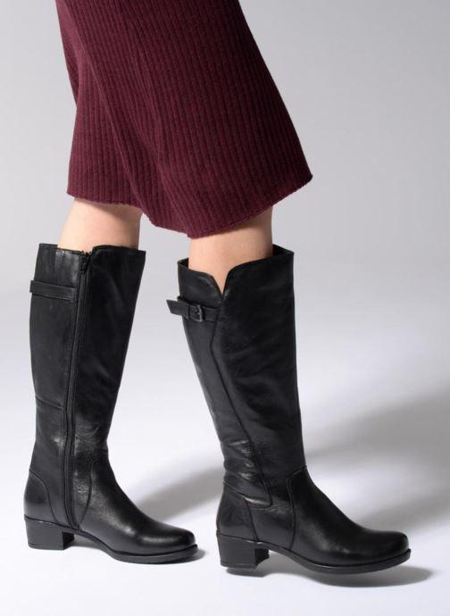 Stiefel Arima pour Elle Fetiche schwarz ansicht von unten / tasche getragen