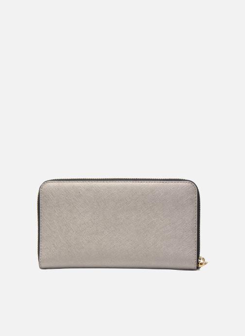 Petite Maroquinerie Karl Lagerfeld Klassik Zip around Wallet Argent vue face