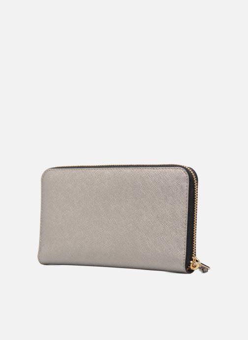 Petite Maroquinerie Karl Lagerfeld Klassik Zip around Wallet Argent vue droite