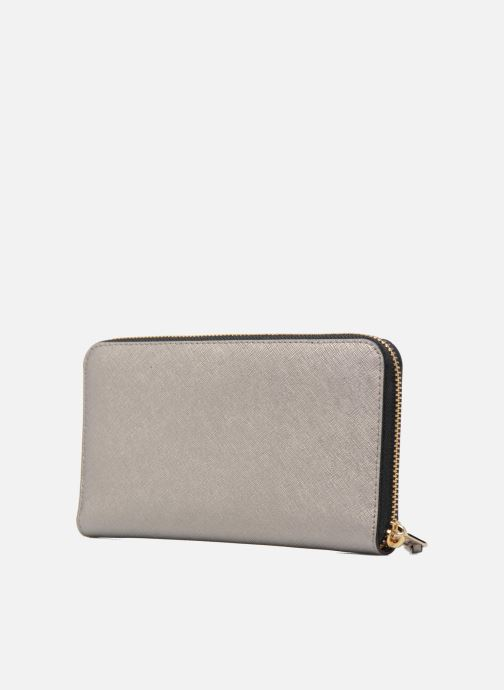 Wallets & cases KARL LAGERFELD Klassik Zip around Wallet Silver view from the right
