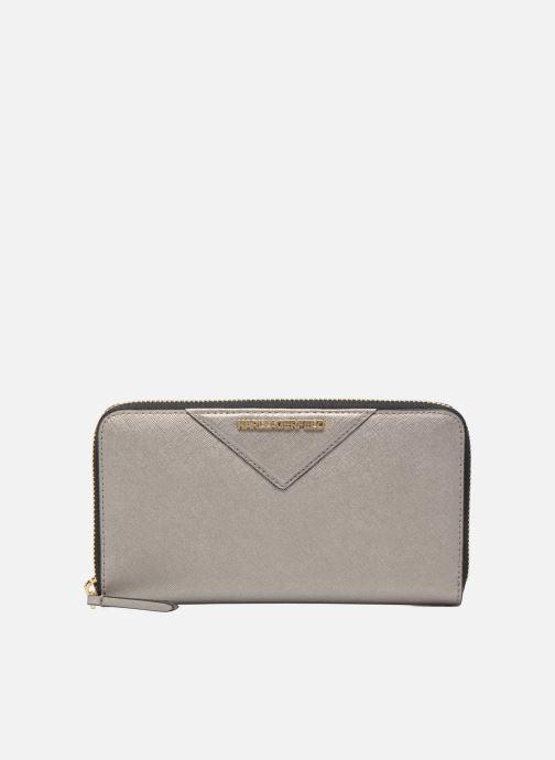 Petite Maroquinerie Karl Lagerfeld Klassik Zip around Wallet Argent vue détail/paire