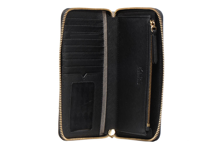 Zip Klassik A538 KARL LAGERFELD PINK around Wallet BROWN qEx6wvxH