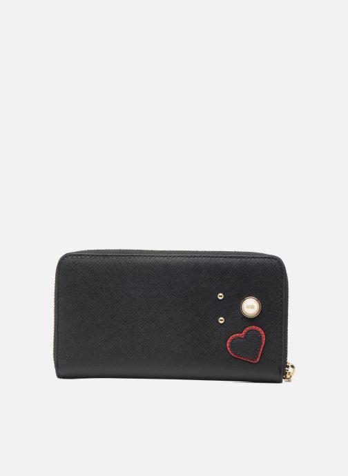 Petite Maroquinerie KARL LAGERFELD Paris Zip Wallet Noir vue face