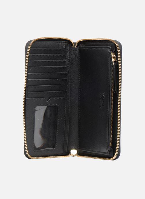 Petite Maroquinerie KARL LAGERFELD Paris Zip Wallet Noir vue derrière