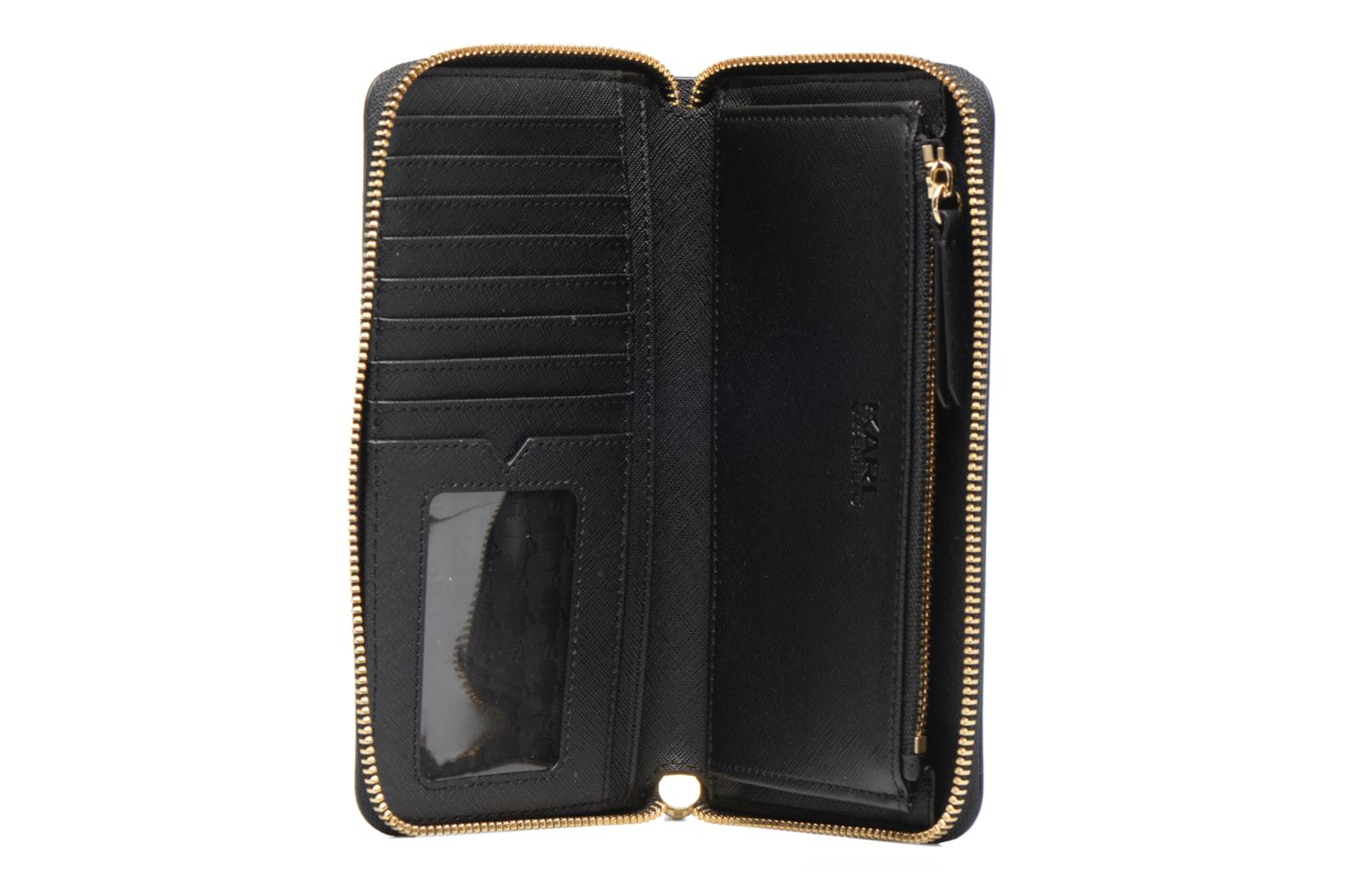 Zip A999 Black Wallet Paris KARL LAGERFELD EHOwqxaH0