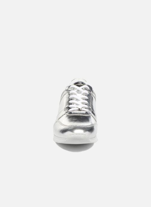 Sneakers Vagabond Shoemakers Kasai 4425-083 Argento modello indossato