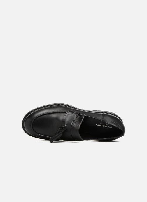 Mocassins Vagabond Shoemakers Kenova 4441-101 Zwart links