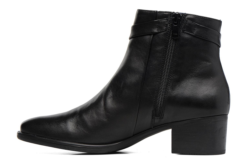 Bottines et boots Dorking Alegria 7232 Noir vue face