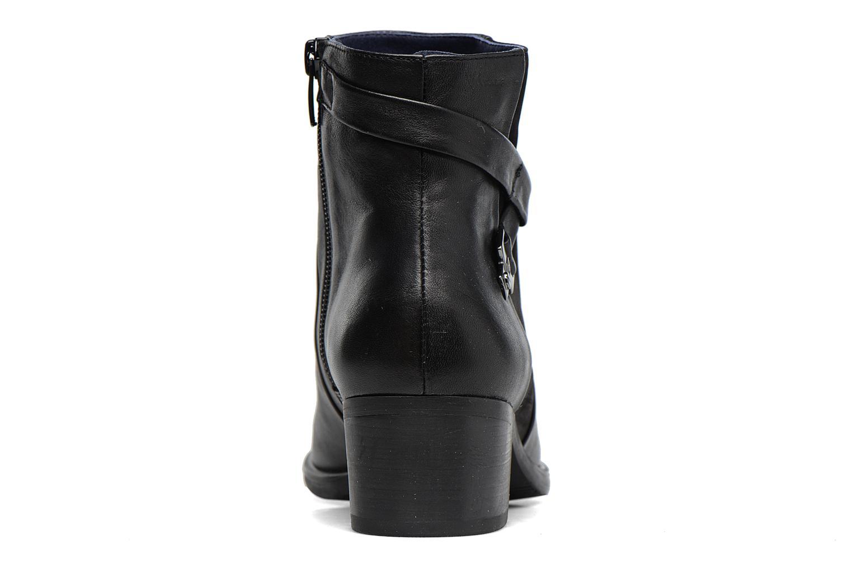 Bottines et boots Dorking Alegria 7232 Noir vue droite