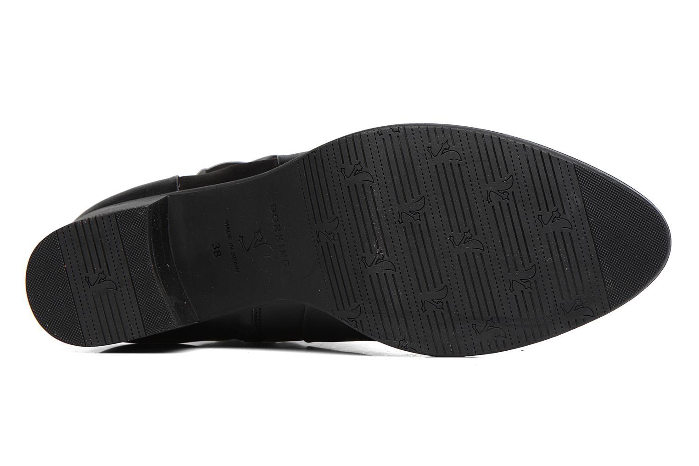 Bottines et boots Dorking Alegria 7232 Noir vue haut