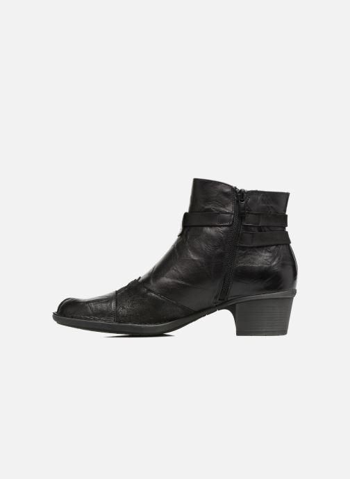 Bottines et boots Dorking Dalma 7371 Noir vue face