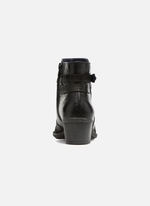 Bottines et boots Dorking Dalma 7371 Noir vue droite